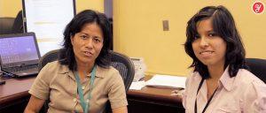Aida Yoguely interviewing Principal Scientist Investigator at NASA Ames Research Center (ARC)