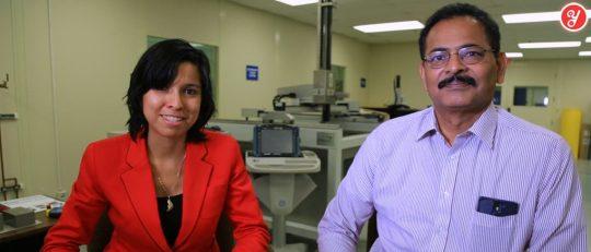 Aida Yoguely interviewing NDE Engineer at NASA Johnson Space Center (JSC)
