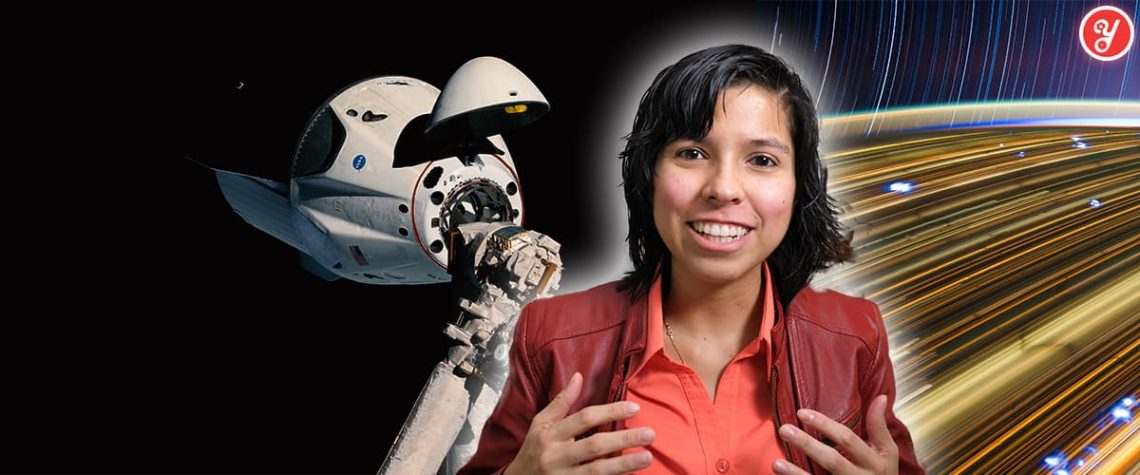 Aida Yoguely talks about how to get a paid high school internship at NASA