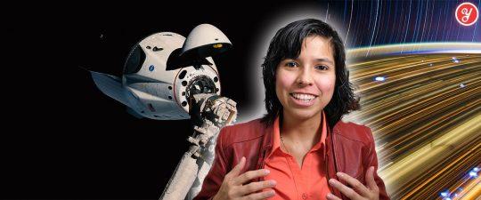 Aida Yoguely talks about how to get a paid high school internship at NASA