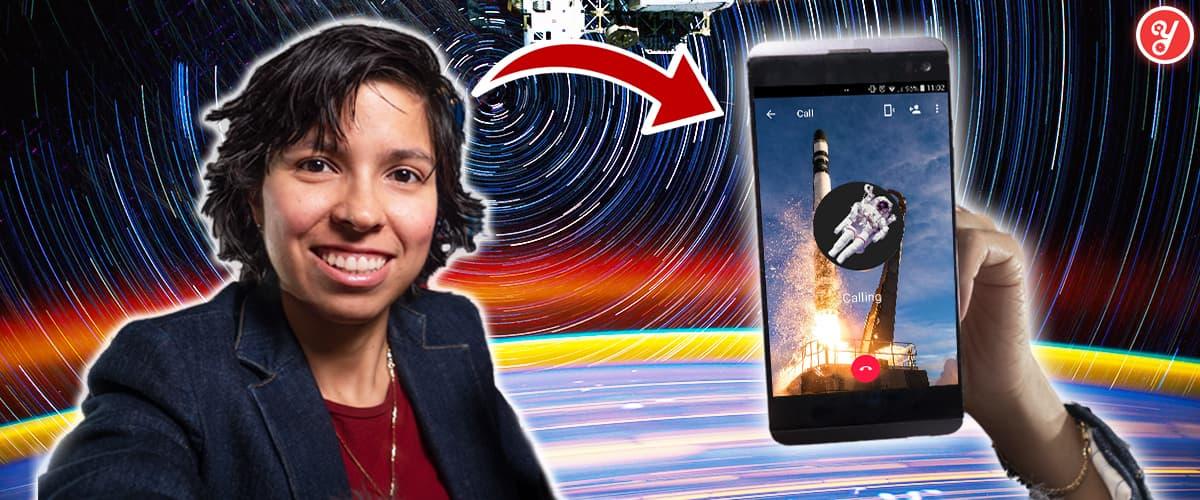 Aida Yoguely enseña cómo obtener una pasantía en la NASA.