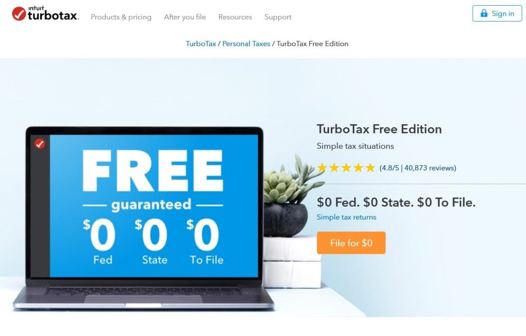 "First glance at Turbo Tax Free Edition screams ""FREE guaranteed"". Easy to misinterpret as only some tax situations are free to file. Others must upgrade to a paid edition."