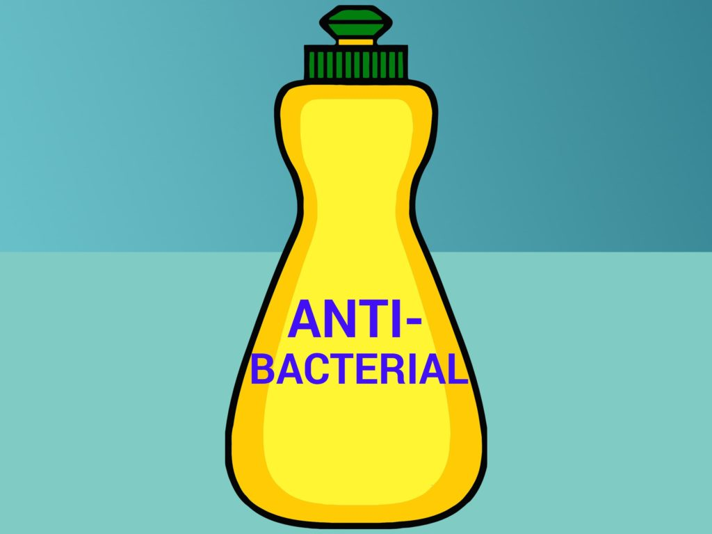 With respect to cleaning, meaning to reduce the quantity of bacteria and viruses on a surface, antibacterial soap is no better than plain soap.