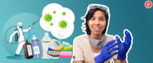 Yoguely shows you the best cleaning agents for frugal people.