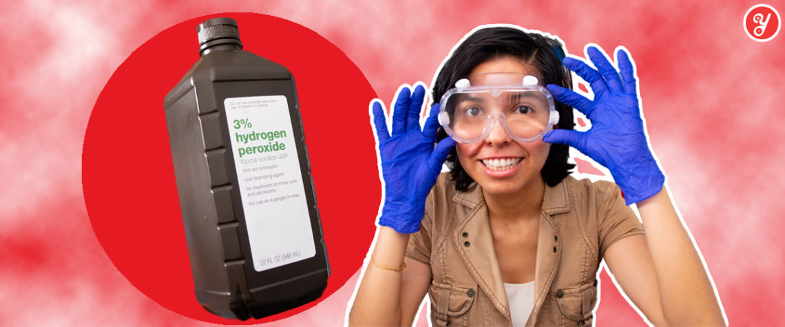 Yoguely shows you exactly how to use hydrogen peroxide the right way to safely disinfect surfaces from 99.99% of microbes including COVID-19.