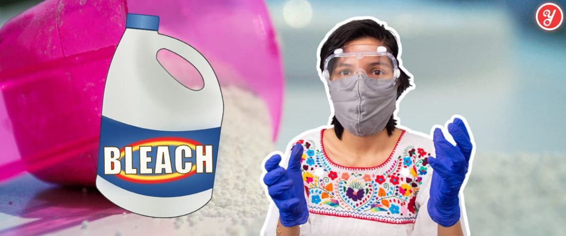 Yoguely shows you exactly how to use sodium hypochlorite, the active ingredient in bleach, the right way to disinfect surfaces from 99.99% of microbes including COVID-19.
