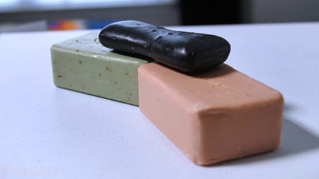 Soap tends to be better for most people's skin.