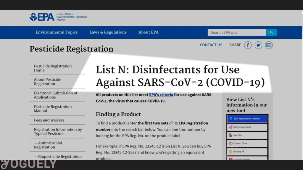 Yoguely - Check whether the disinfectant has been found to kill the exact bacteria or virus you are after (e.g. SARS-CoV-2 Coronavirus Covid-19). Or whether it is effective against similar or harder-to-kill viruses.
