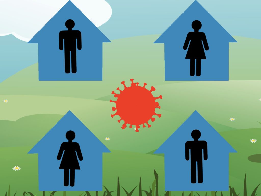Yoguely - The safest way to prevent contagion is to avoid exposure to the disease by being in quarantine.